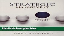 [Reads] Strategic Management: Concepts and Cases Free Books