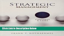 [Reads] Strategic Management: Concepts and Cases Online Ebook
