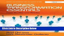 [Reads] Business Transformation Essentials: Case Studies and Articles Online Ebook