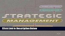 [Fresh] Strategic Management: Strategists at Work New Ebook