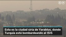 Turquía bombardea a ISIS