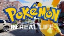 Voici à quoi ressemblerait Pokémon Go si on décidait de le jouer dans la vie réelle