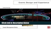 [Best] Events Design and Experience (Events Management) Online Ebook