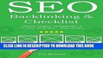 SEO Checklist for New Websites - DIY Search Engine