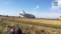 """L'interminable chute du plus gros """"fessier-volant"""" du monde"""