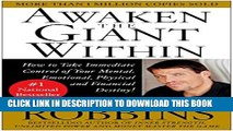 Collection Book Awaken the Giant Within : How to Take Immediate Control of Your Mental, Emotional,