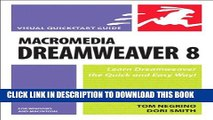Free Read Macromedia Dreamweaver 8 For Windows And