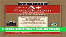 New Book A+ Specializations Certification All-in-One Exam Guide (Exams 220-603   220-604)