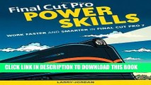 New Book Final Cut Pro Power Skills: Work Faster and Smarter in Final Cut Pro 7