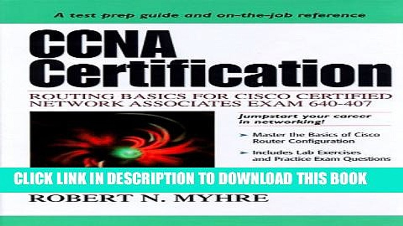 Collection Book CCNA Certification: Routing Basics for Cisco Certified  Network Associates Exam