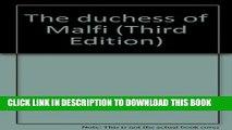 New Book The Duchess of Malfi