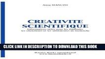 [PDF] CREATIVITE SCIENTIFIQUE, INFORMATIONS UTILES POUR LES ETUDIANTS, LES CHERCHEURS ET LES