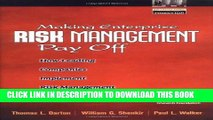 New Book Making Enterprise Risk Management Pay Off: How Leading Companies Implement Risk Management