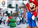 [FULL HD] Abe Mario -Japanese prime minister Shinzo Abe - at the Closing Ceremony Rio 2016