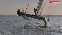 Catamaran volant. Des sensations foils