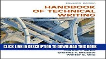 Collection Book The Handbook of Technical Writing