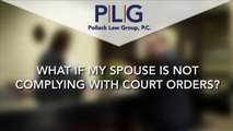 What to Do If My Spouse Is Disobeying Court Orders?