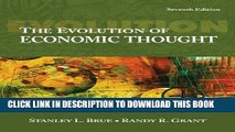 New Book The Evolution of Economic Thought (with InfoTrac® 1-Semester, Economic Applications