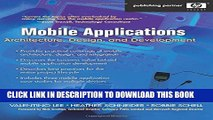 Collection Book Mobile Applications: Architecture, Design, and Development: Architecture, Design,