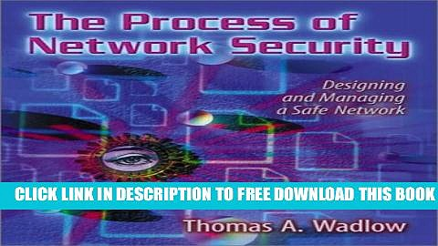 New Book The Process of Network Security: Designing and Managing a Safe Network