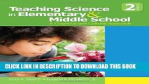 New Book Teaching Science in Elementary and Middle School: A Cognitive and Cultural Approach
