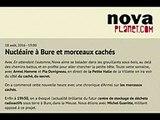Radio Nova explique le projet CIGéo de BURE - avec Michel GUERITTE - 18 août 2016