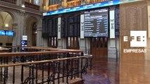 El IBEX 35 aguanta los 8.500 puntos a mediodía con una subida del 0,77 %