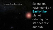 Earth-like planet found orbiting nearby star