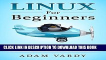 New Book Linux For Beginners: The Ultimate Guide To The Linux Operating System   Linux
