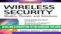 New Book Wireless Security: Models, Threats, and Solutions