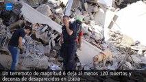 Al menos 120 muertos y 368 heridos por un terremoto de 6,2 grados en Italia