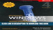New Book Microsoft Windows Internals (4th Edition): Microsoft Windows Server 2003, Windows XP, and