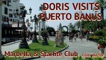 Doris Visits Puerto Banus & Status Quo at the Marbella Starlite Club