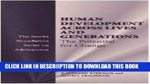 [PDF] Human Development across Lives and Generations: The Potential for Change (The Jacobs