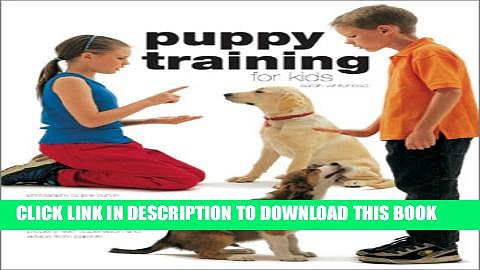New Book Puppy Training for Kids