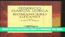 [Best] Romancero Gitano (Spanish Edition) Free Books
