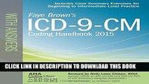 [PDF] ICD-9-CM Coding Handbook, with Answers, 2015 Rev. Ed. (ICD-9-CM Coding Handbook with Answers