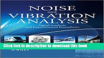 Read Noise and Vibration Analysis: Signal Analysis and Experimental Procedures  Ebook Free