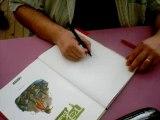 David Ratte en dédicace à Limoges (salon du livre 2007)
