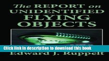 Download The Report on Unidentified Flying Objects (UFOs)  PDF Online