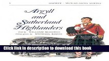 Download Argyll and Sutherland Highlanders (Men-at-Arms, Book 3)  Ebook Online
