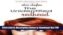 [Read] The Unidentified Redhead Ebook Free