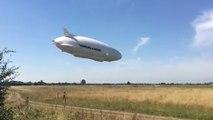 Airlander 10, le plus gros aéronef du monde se crash