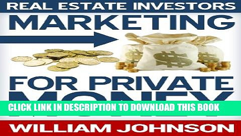 Collection Book Real Estate Investors Marketing For Private Money