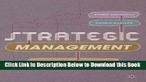 [Reads] Strategic Management: Strategists at Work Online Books