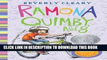 Collection Book Ramona Quimby, Age 8