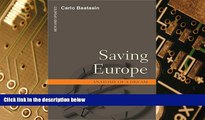 Big Deals  Saving Europe: Anatomy of a Dream  Best Seller Books Most Wanted