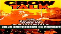 [Get] Crow Talk : The Definitive Guide to Counting Crows Free Online