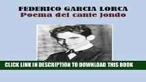 [PDF] POEMA DEL CANTE JONDO (Spanish Edition) Popular Colection