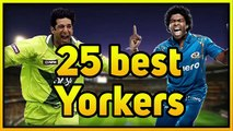 Top 25 Best Yorkers - Amazing Yorkers (Vol 1) - Toe Crushing Yorkers -